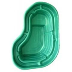 Пластиковый пруд 300л (зелёный)