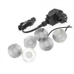 Комплект встраиваемых светильников LunAqua Terra Led Set 6
