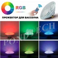 Лампа CQD-225B PAR56 LED SMD RGB on/off версия